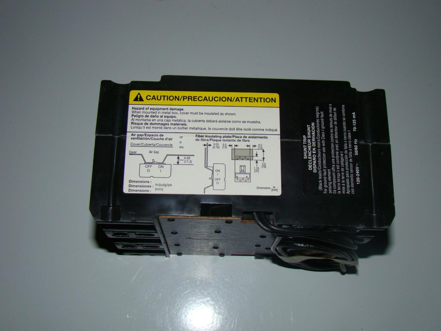 ge shunt trip circuit breaker wiring diagram chevrolet colorado fuse thqb 41