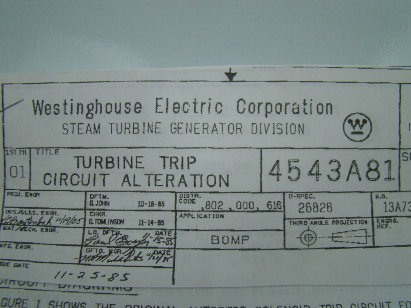 Westinghouse Electric Corporation 4543A81  eBay