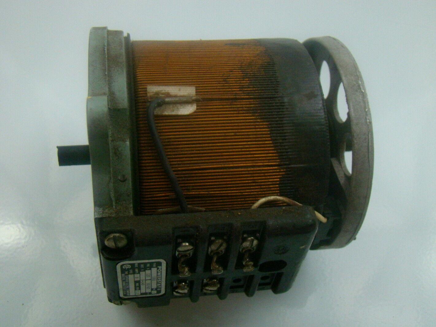 powerstat variable transformer wiring diagram kenworth w900 diagrams 120v 116u ebay