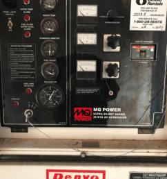 multiquip 25kva diesel powered ac generator 1ph 3ph  [ 800 x 1066 Pixel ]
