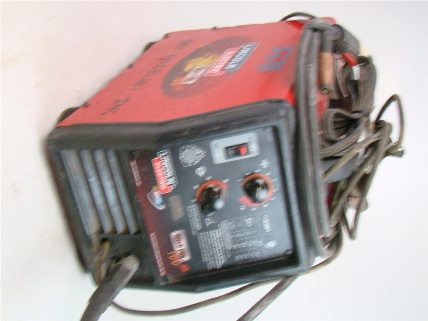 Lincoln Weld Pak Hd Parts : lincoln, parts, Lincoln, Electric, 100HD, Welder,, 10965