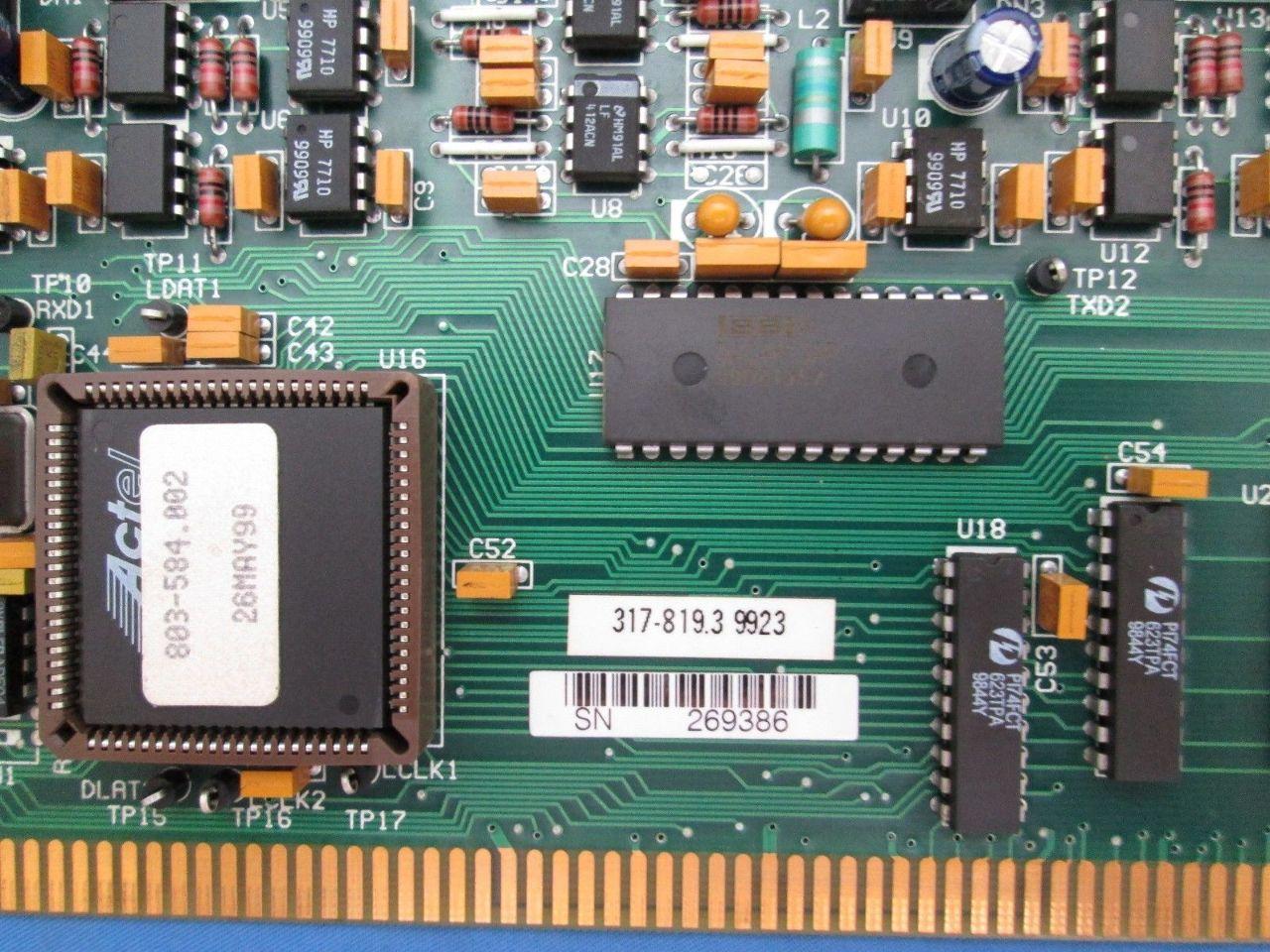 Unico 317-819.3 Printed Circuit Board | Process Industrial Surplus