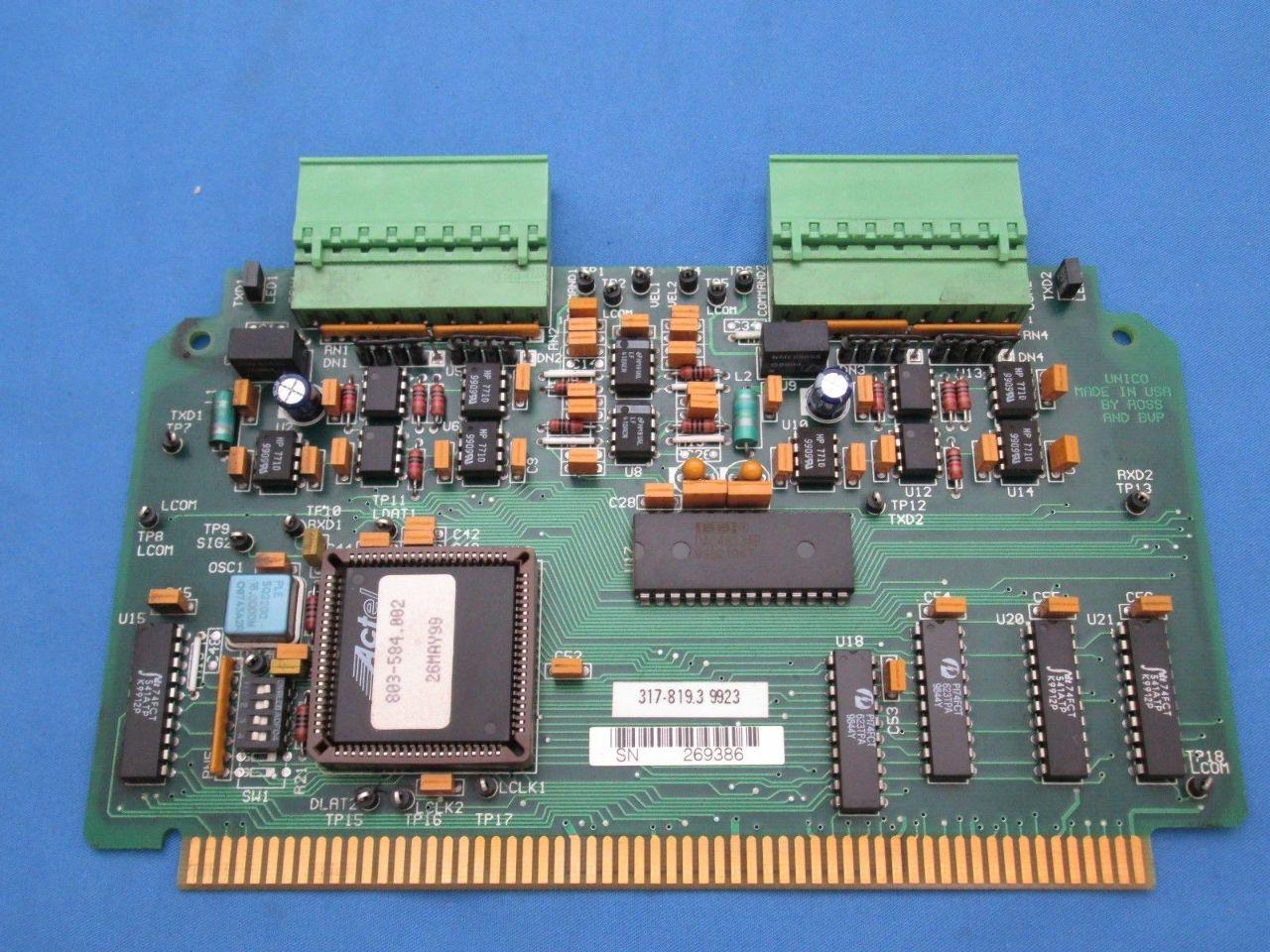 Unico 317-819.3 Printed Circuit Board | Process Industrial Surplus Corp.
