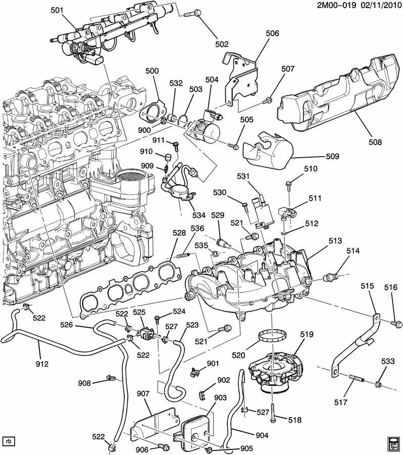 Throttle Body 2007-2011 GM 2.0L Turbo Regal Cobalt
