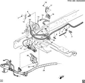0709 GMC TopkickChevy Kodiak Electronic Air Brake