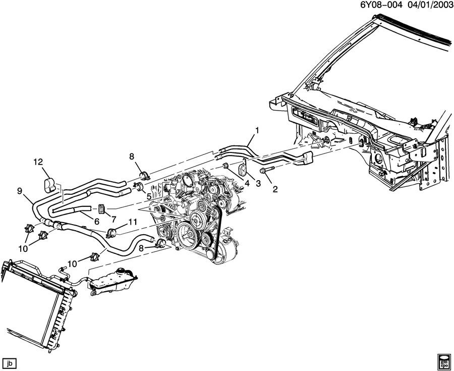 Front Drivetrain Parts Diagram 2006 Saturn. Saturn. Auto