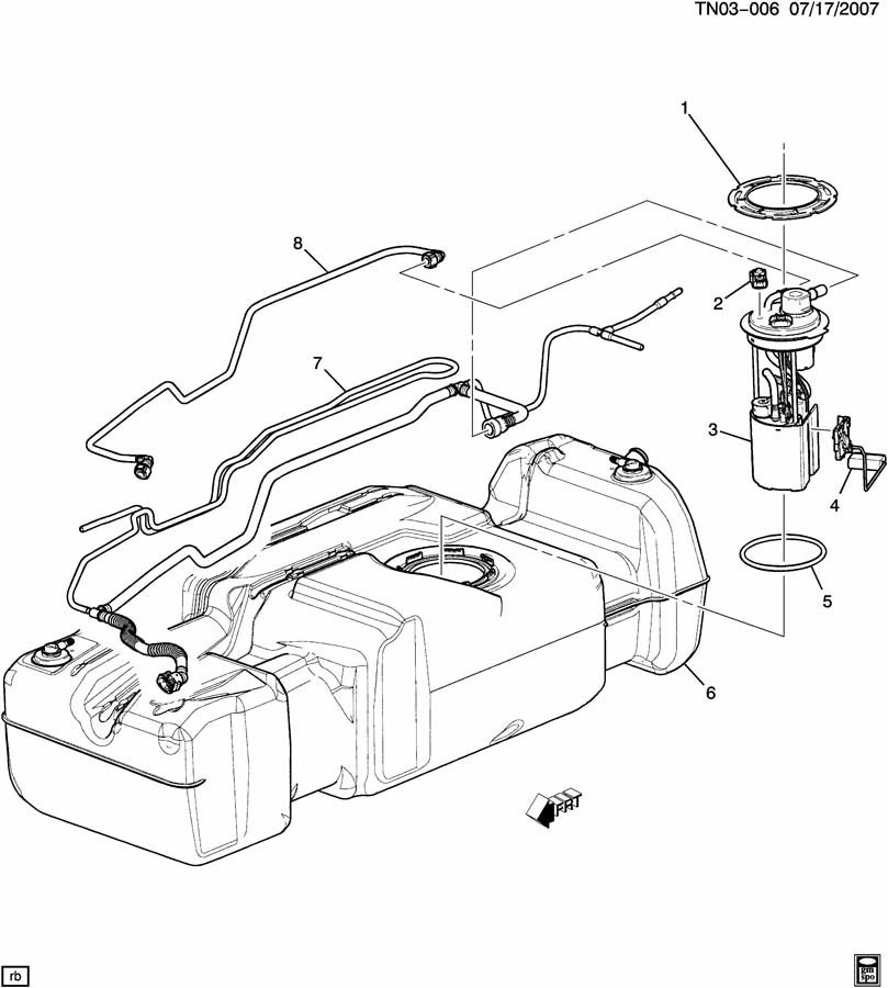 Differential H3 Hummer Front Diagram