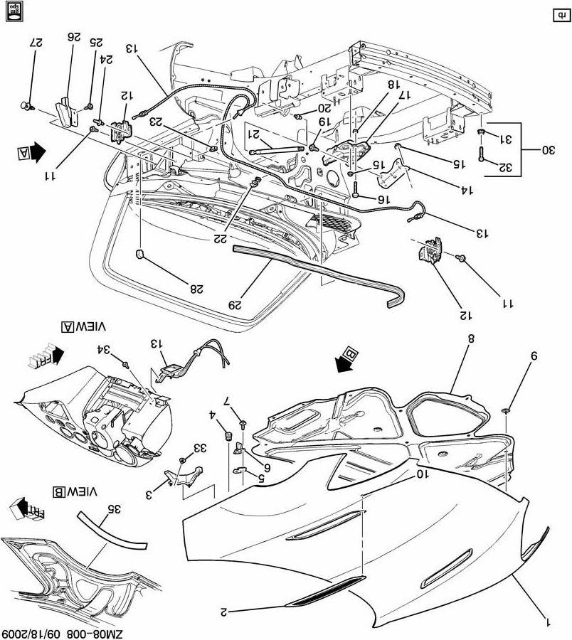 Pontiac Montana Parts Diagram Hood. Pontiac. Auto Wiring