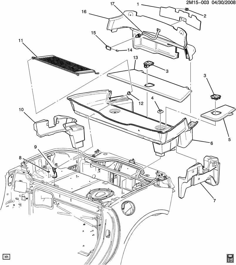 [DIAGRAM SN_9330] Pontiac Oem Parts Diagram HD Quality