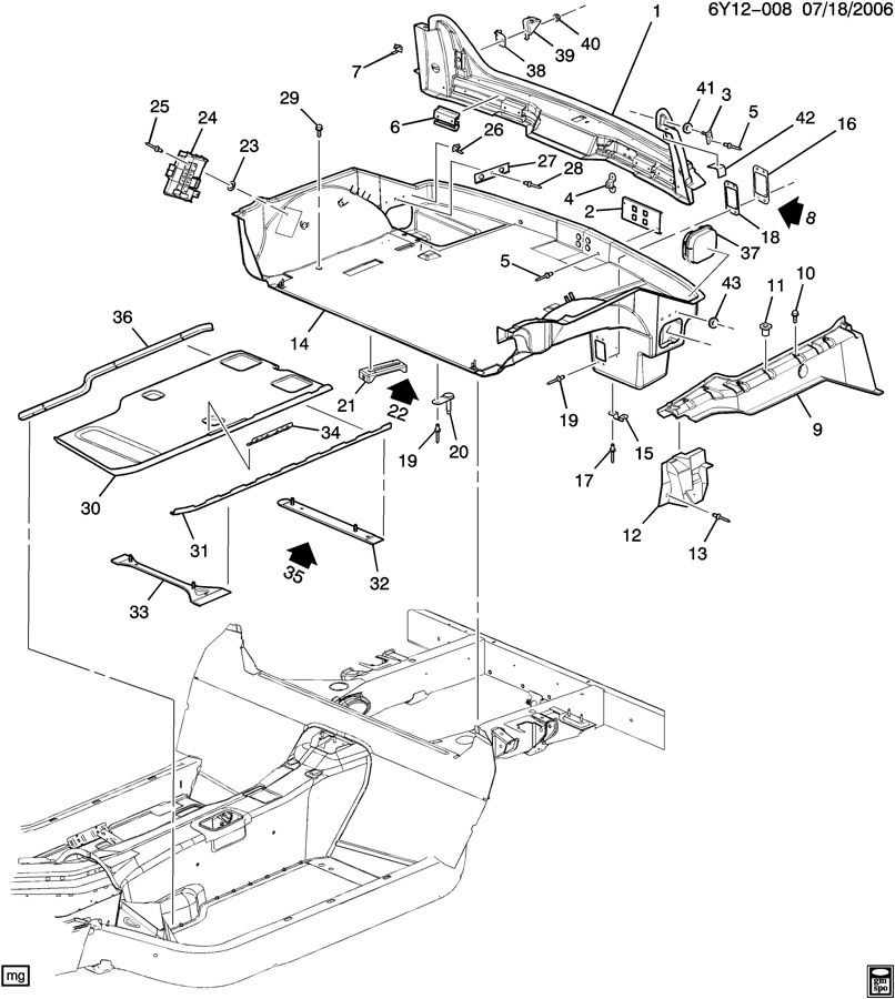 Service manual [2004 Cadillac Xlr Removal Diagram