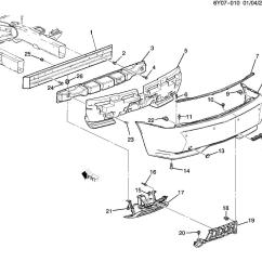 Grand Prix Parts Diagram Wiring For 12 Volt Winch Solenoid 2000 Pontiac Rear Bumper