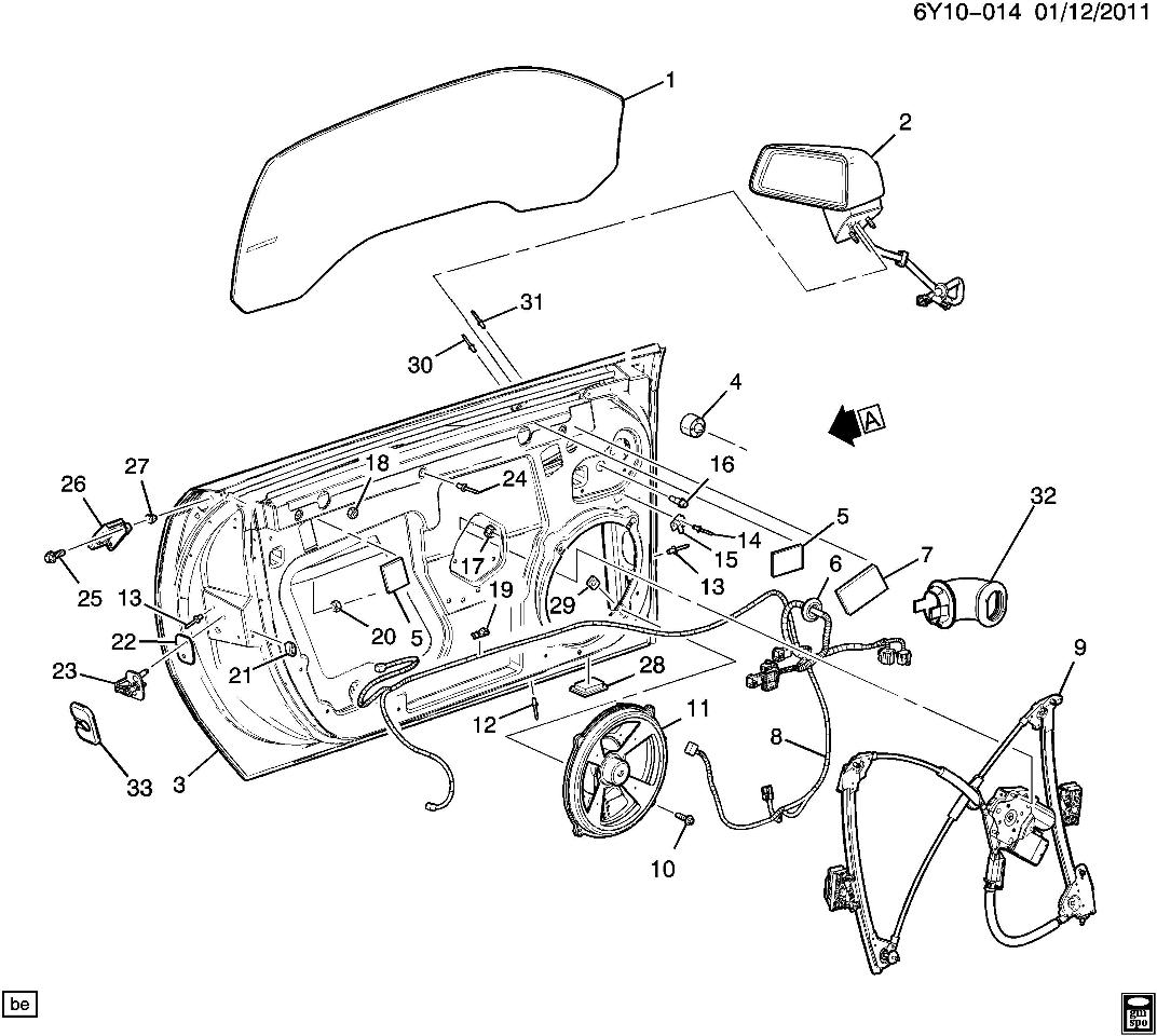 2002 honda cr v mirror schematic