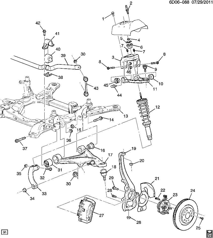 Cadillac Northstar Engine Diagram 05 Cadillac STS Engine