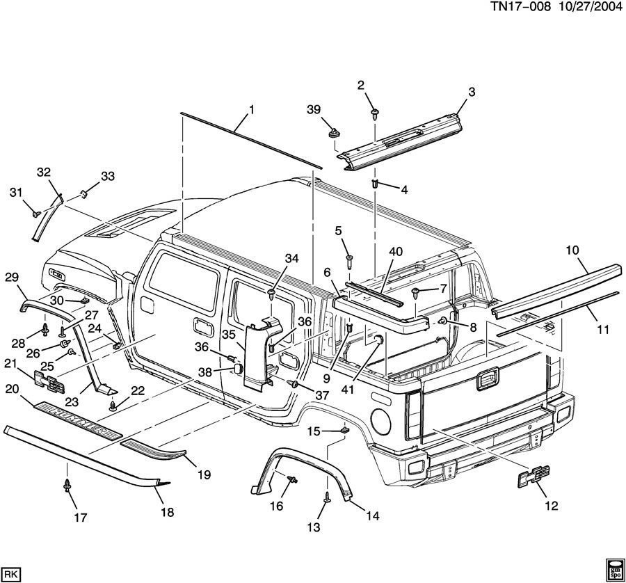 [Diagram Of How A 2005 Hummer H2 Transmission Is Removed