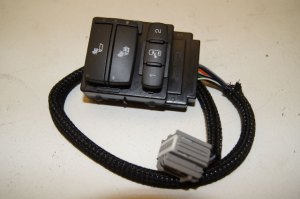 0809 Hummer H2 Lh Drivers Side Door Panel Seat Heater Switch