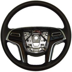 Gm Radio Theft Lock Wiring Diagram For 7 Way Plug 2013-2014 Cadillac Xts Steering Wheel Black Leather Brown Wood W/paddle Shift W/acc