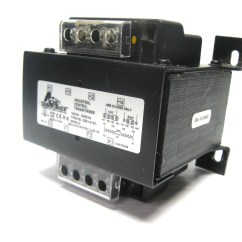 Acme Transformer Flasher Relay Wiring Diagram Ce01 0150 Industrial Control 150 Va 120