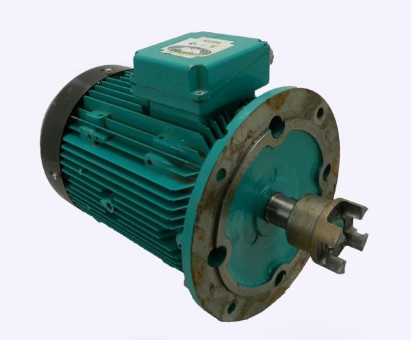 Brook Crompton 10hp Electric Motor 1740 Rpm 480vac 3 Ph