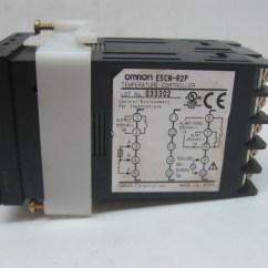 Omron Temperature Controller Wiring Diagram Trailer Wire 5 E5cn R2p Ebay