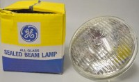 GE All Glass Sealed Beam Lamp | Surplus Trading Corporation