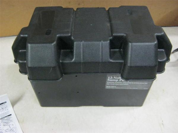 In Box Wayne 12 Volt Standby Sump Pump