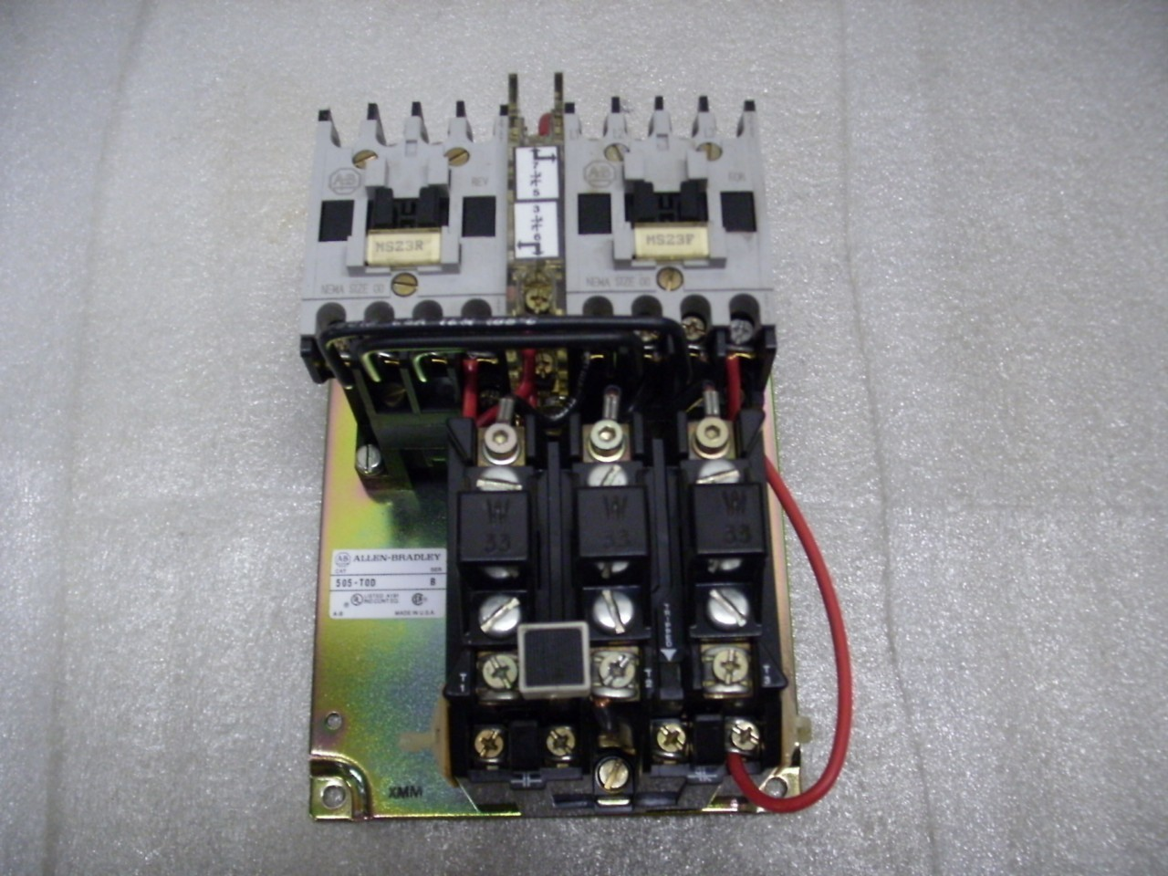 hight resolution of allen bradley 505 tod contactor reversing starter 9 amp daves industrial surplus llc