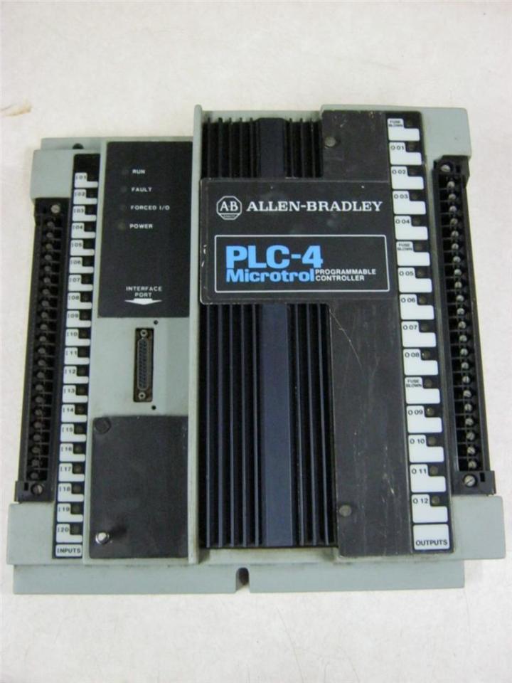Allen-Bradley 1773-L1A PLC-4 Microtrol Programmable Controller   Daves Industrial Surplus LLC