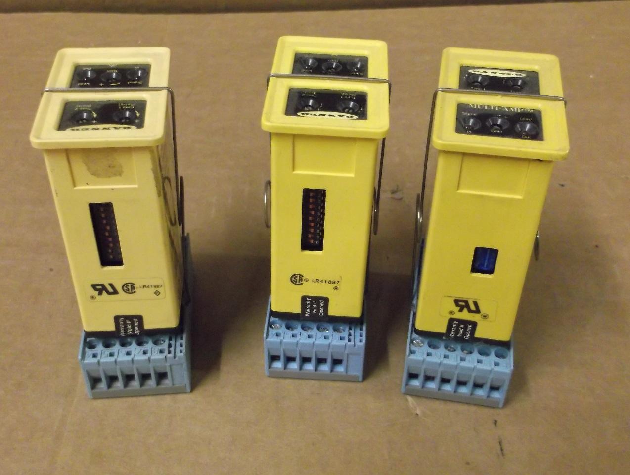 3 BANNER MAXI-AMP MODULATED AMPLIFIER MODULE CM5RA