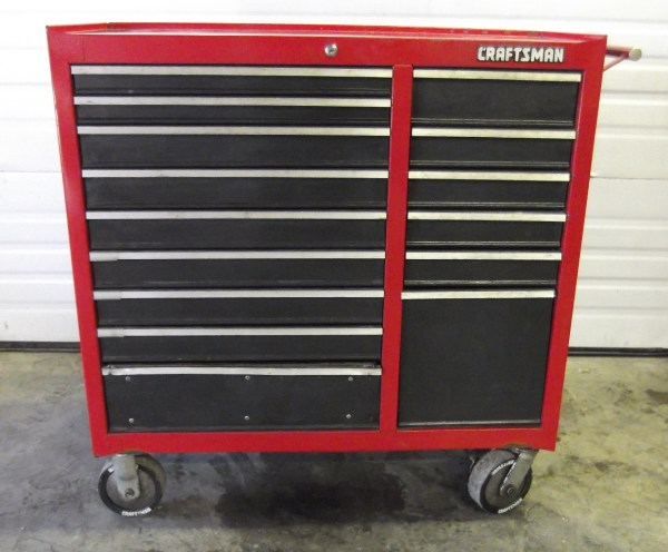 Craftsman Rolling 15 Drawer Tool Chest