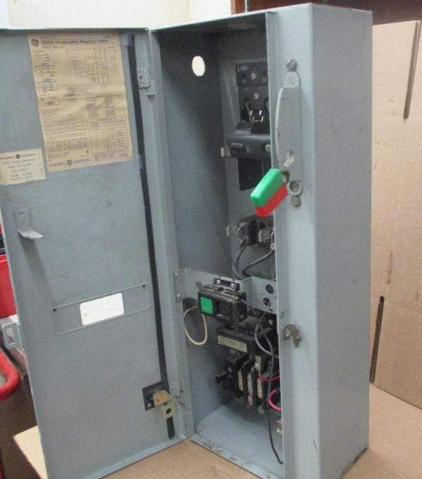 Cooper Line Industrial Control Panel Enclosure - Year of ... on