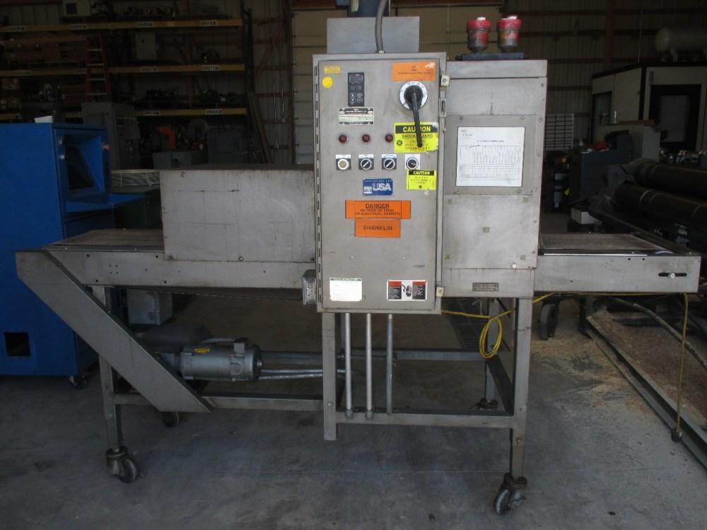 medium resolution of doboy sk 100 shrink tunnel 3 phase 480 volt daves industrial surplus llc