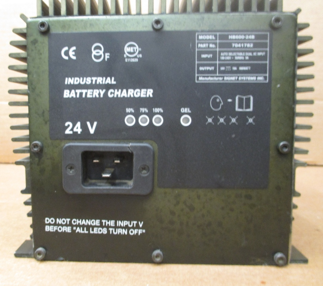 GENIE AERIAL LIFT BATTERY CHARGER  SIGNET HB600 24B24V