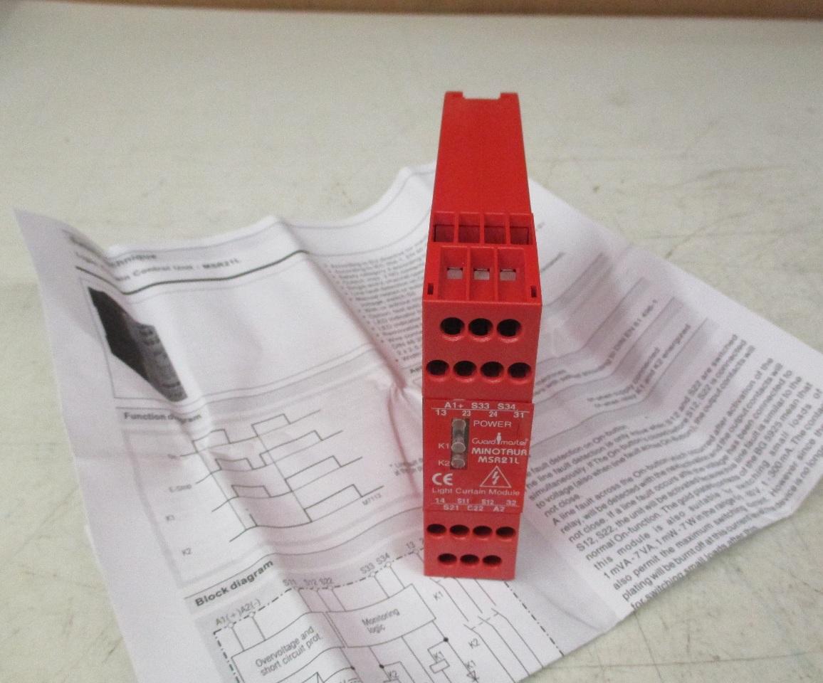 Allen Bradley 44ORP23069 guard master light curtain control module  Daves Industrial Surplus LLC