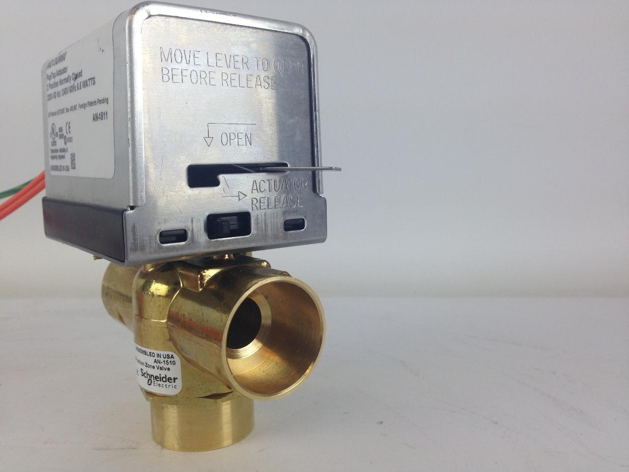 3 way zone valve wiring diagram 1998 dodge ram 2500 schneider electric vt3417g13um60 poptop ensamble de la