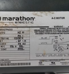 electric motor marathon electric motor marathon electric motor wiring instructions [ 1280 x 721 Pixel ]