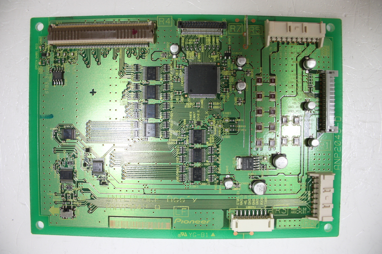 Home Tv Parts Circuit Boards Pioneer Anp2157a Circuit Board