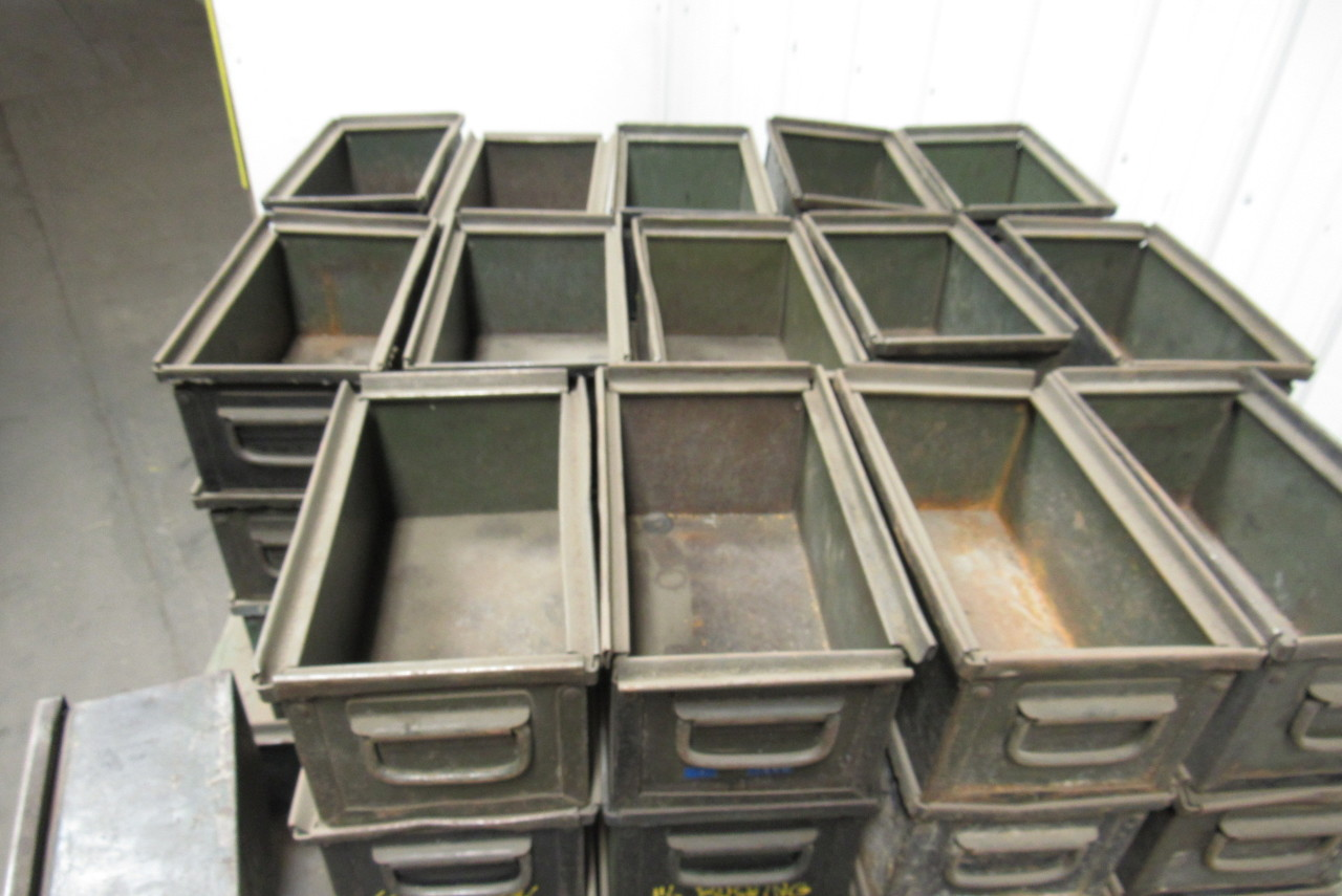 Metal Industrial Stackable Storage Bins