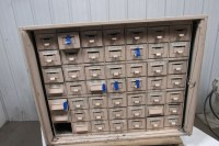 48 Drawer Vintage Industrial Steel Small Parts Storage