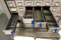48 Drawer Vintage Industrial Steel Small Parts Storage ...