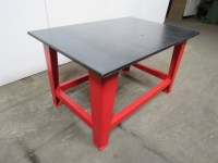 "Steel Welding Work Bench Assembly Layout Table 60"" x 40"" 1 ..."