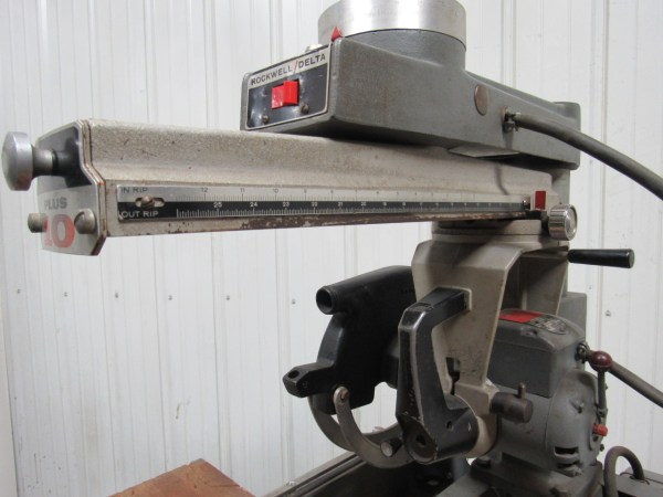 Rockwell Delta 33-694 10 Radial Arm 12