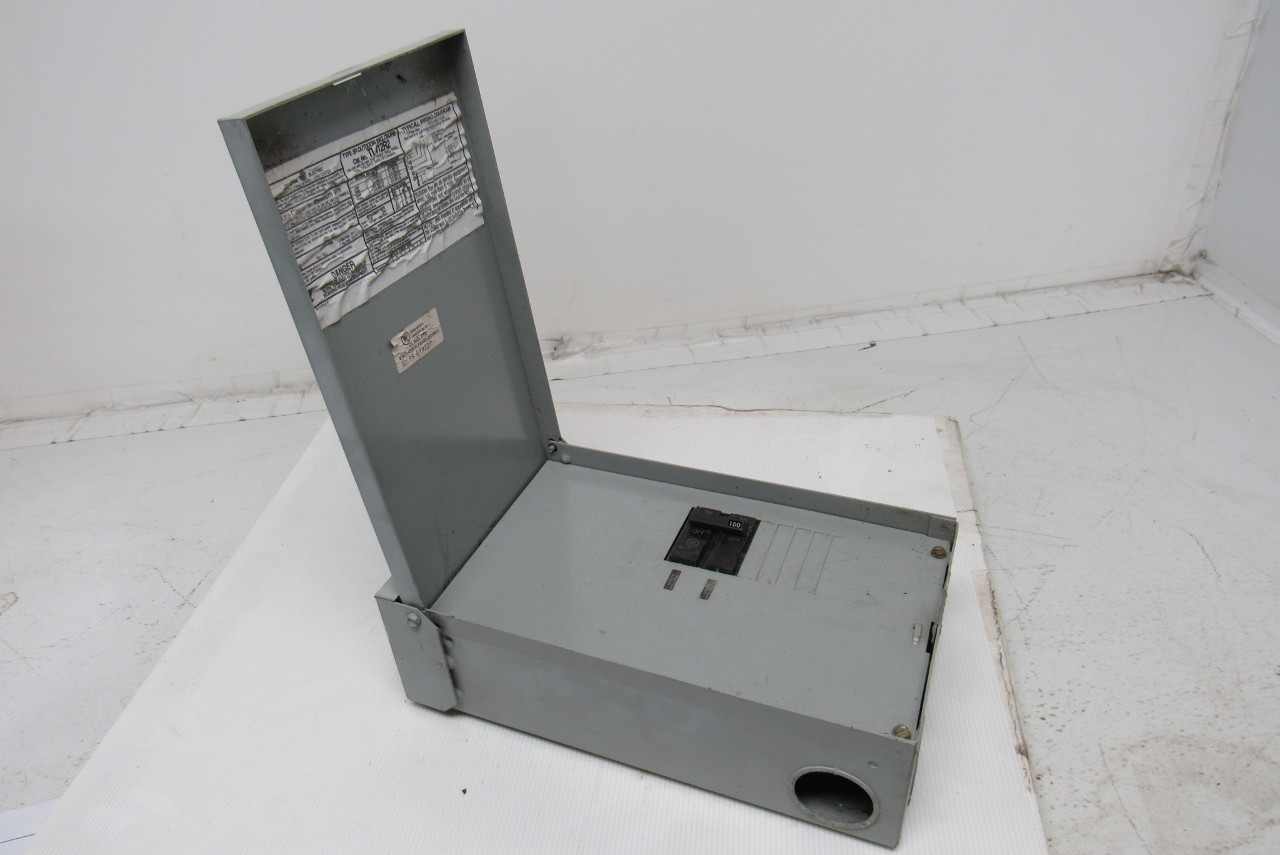 GE General Electric TL412R2 100-Amp 6-Space Outdoor Main