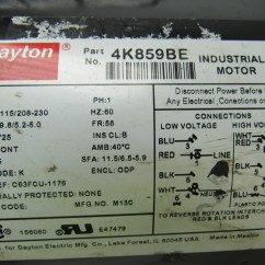 Dayton Capacitor Start Motor Wiring Diagram Iron Carbon Phase Wiki Gould Electric 115
