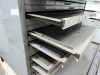 Hamilton Flat File Blueprint Plans Map Architect Metal ...