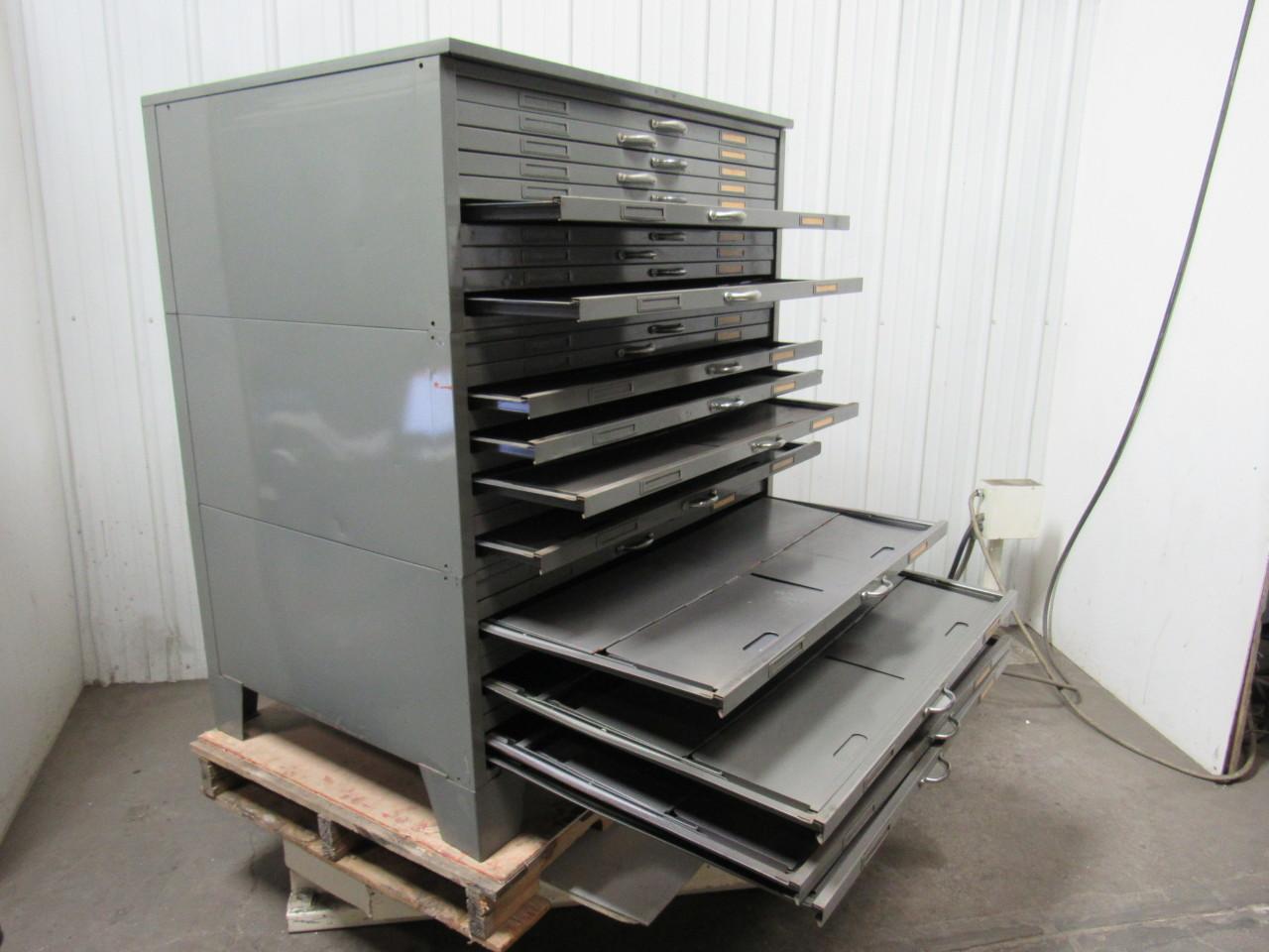 Blueprint Flat File Cabinet
