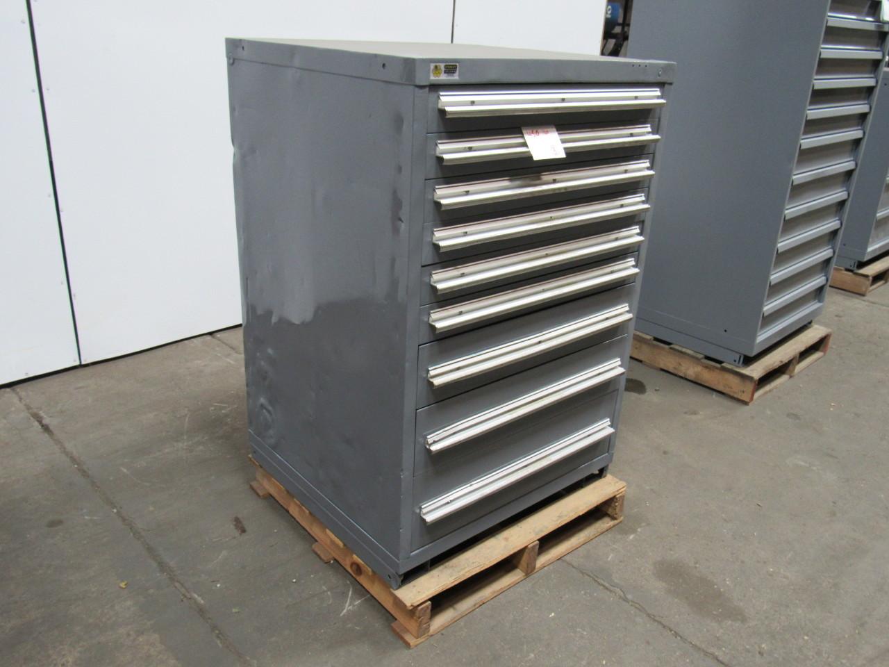"STANLEY VIDMAR 9 DRAWER 44"" Industrial Tool Parts Storage"