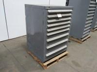 "STANLEY VIDMAR 9 DRAWER 44"" Industrial Tool Parts Storage ..."