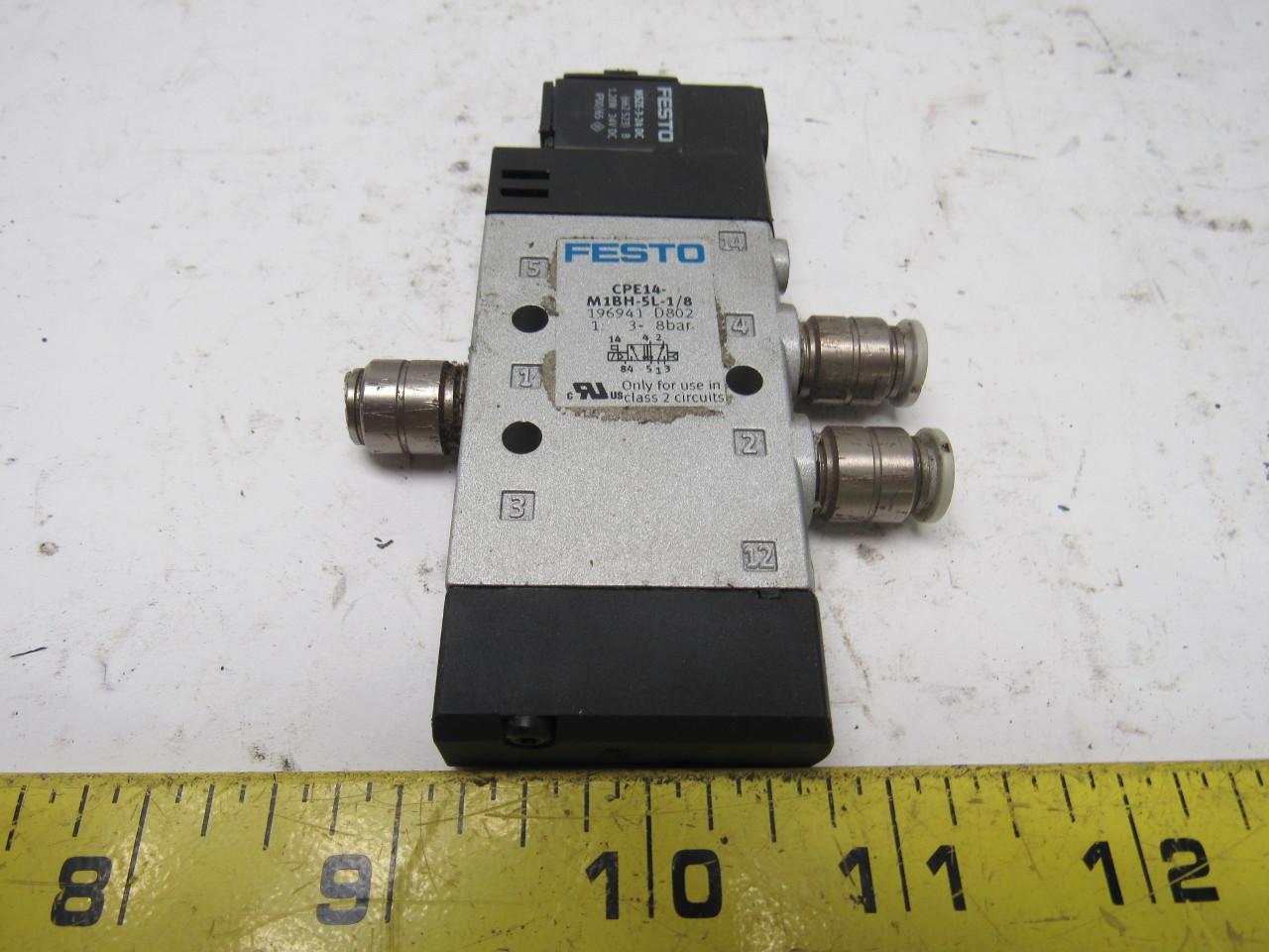 hight resolution of home festo limit switch wire diagram 2 festo pneumatic valves festo pneumatic valves festo cpe14 m1bh 5l 1 8 pneumatic directional control valve 24vdc