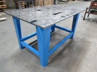 "Steel Welding Work Bench Assembly Layout Table 39x60x33"" 3 ..."