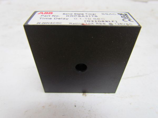 Abb Solid State Programmable Timer 24-240vac Dc Time Delay
